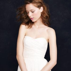 JCrew Arabelle Ivory Wedding Dress